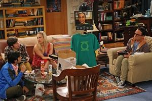 Sheldon as a robot